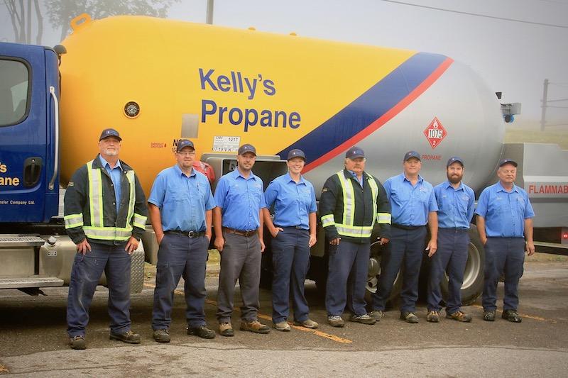 Staff members of Kellys Propane